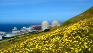 Diablo Canyon Nuclear Plant in Springtime