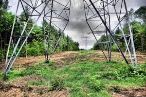 electric grid right of way