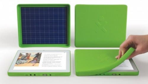 one laptop per child solar tablet