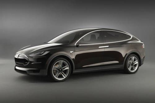 Tesla Model X - Obtained from Tesla Motors Pressroom.