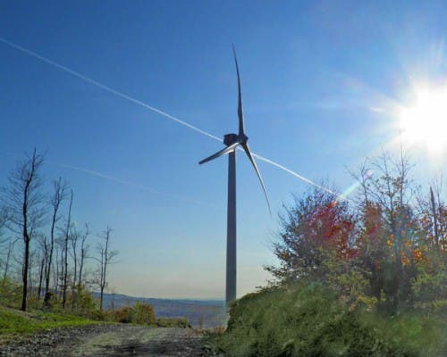 sheffield wind project turbine
