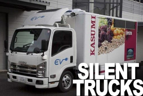 Electric Trucks in Tsukuba