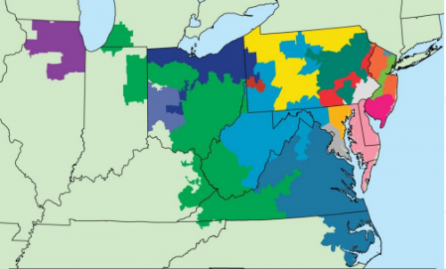 PJM serves 13 states and the District of Columbia