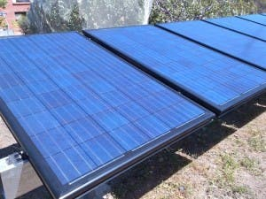 The first installation of Tindo Solar Panels in Adelaide, SA