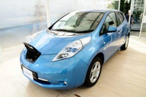 nissan leaf technological revolutions