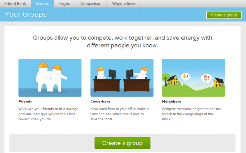 opower facebook energy efficiency app