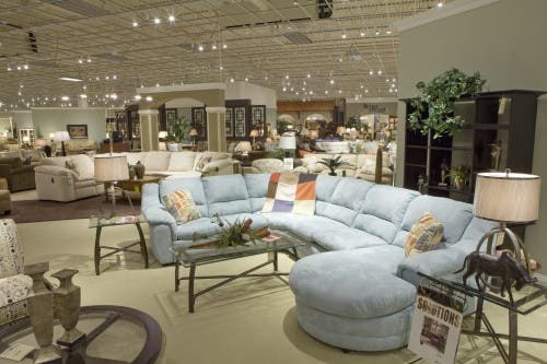 energy efficient lighting furniture store