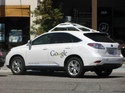 google automatic driving car