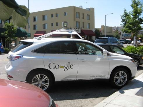 google self-driving lexus