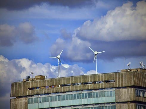 Modelling Wind Turbines in Urban Centers