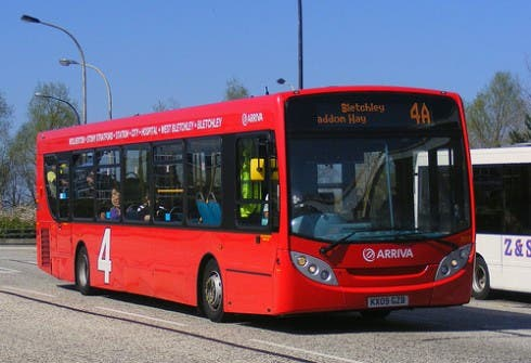 British Buses Going Electric