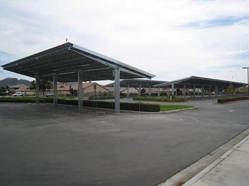 US School District Saves $300,000 with Solar Canopies