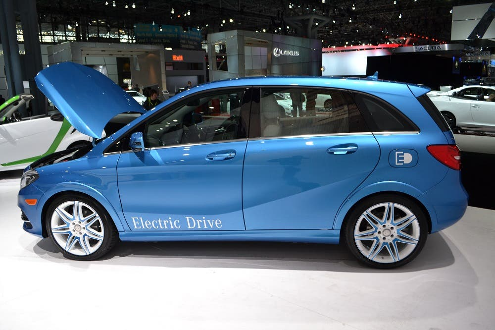Mercedes B Class Electric Drive To Be 1st 100 Electric