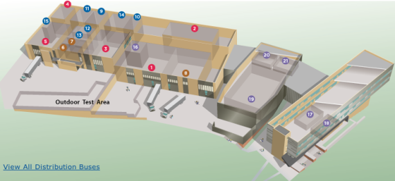 ESIF lab layout