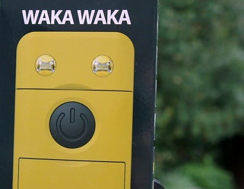 WakaWaka Power solar phone charger and lamp