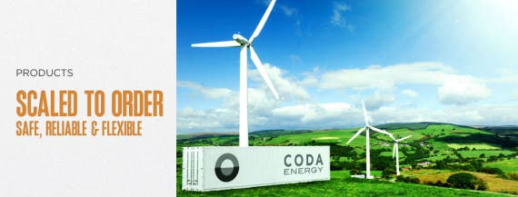 coda energy batteries