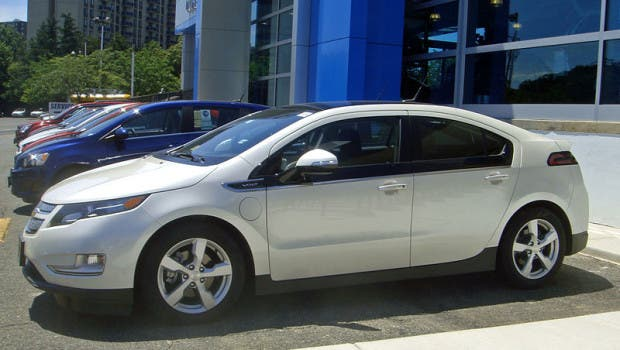 Image Credit: Chevy Volt via WikiCommons