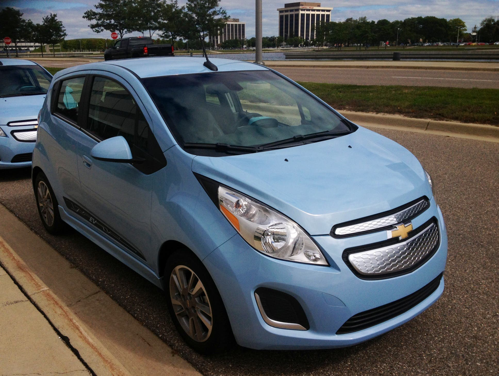 2014 Chevy Spark EV Test Drive CT Exclusive