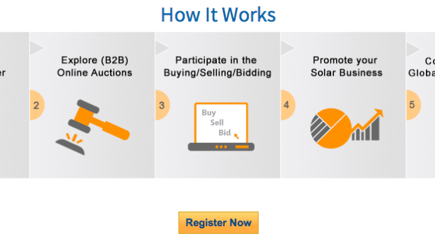 Solar Online Auction Solar Exchange