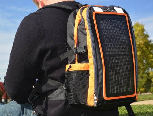 Image result for Solar Backpack Collection