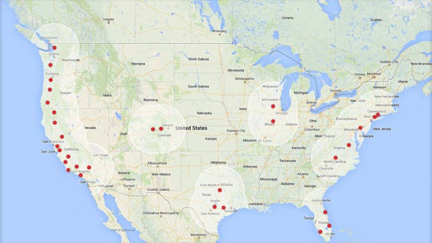 Tesla Charging Stations San Diego >> The Tesla Model S Can Now Travel From San Diego To Vancouver!