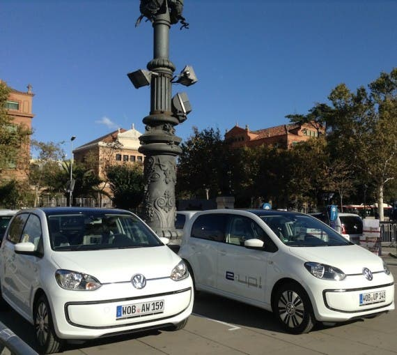 VW eUps Barcelona Spain
