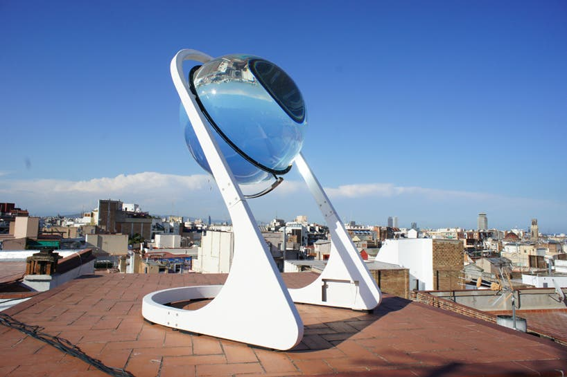 Solar Ball Lens Improves Energy Efficiency 35 Cleantechnica