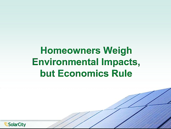 SolarCIty Webinar New National Poll – U.S. Homeowners Weigh In on Clean Energy