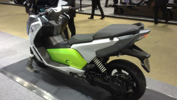 BMW electric scooter 4