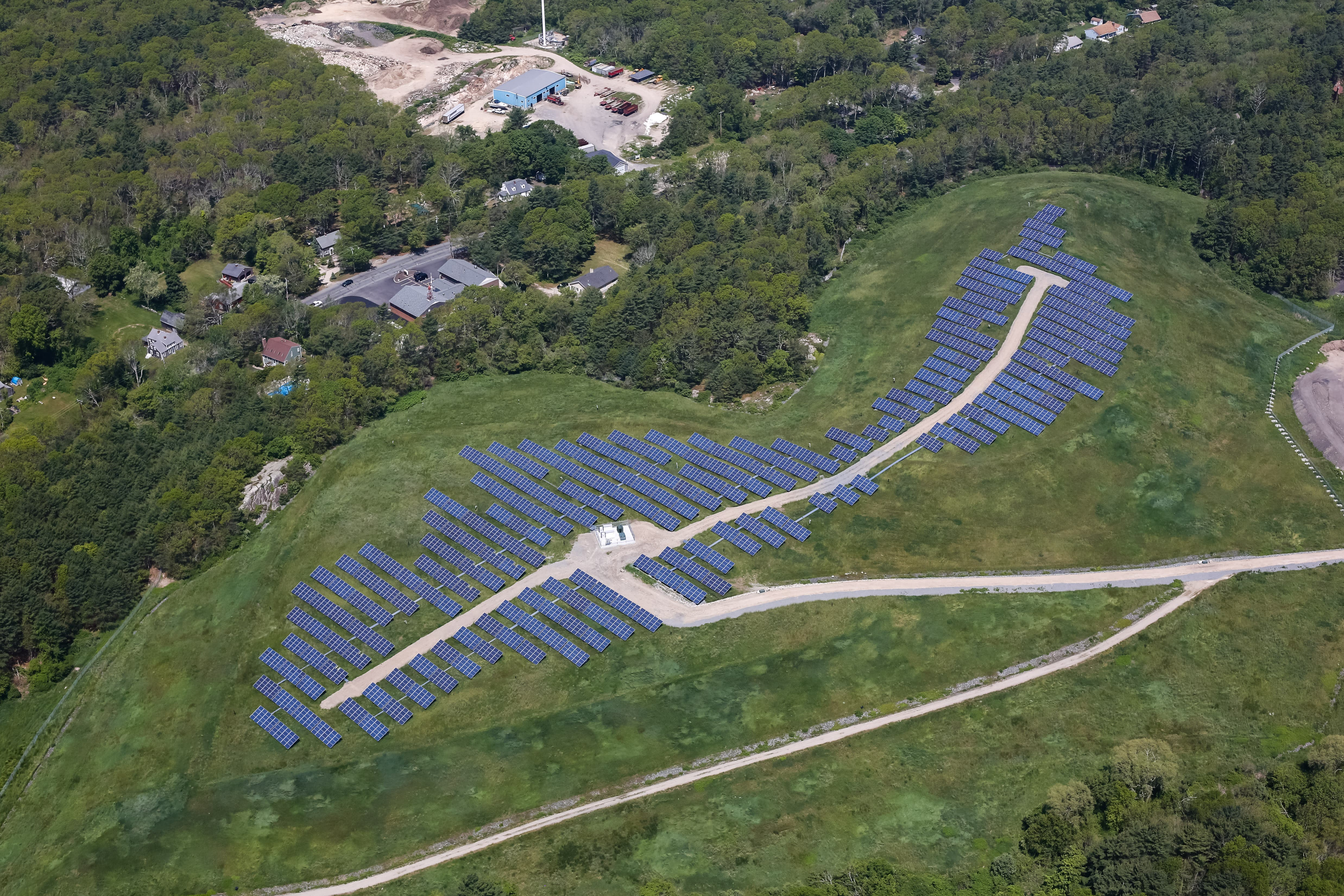 The Only Active Landfill In Vermont Goes Solar