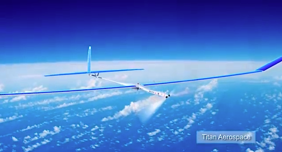 Unmanned solar vehicle (Titan)