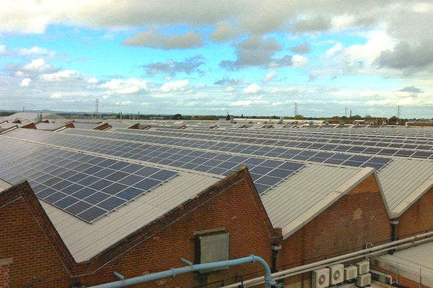 rooftop solar hubs are the focus of new UK Solar Strategy