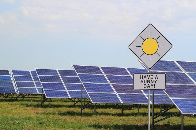 cheapest electricity source solar power plant
