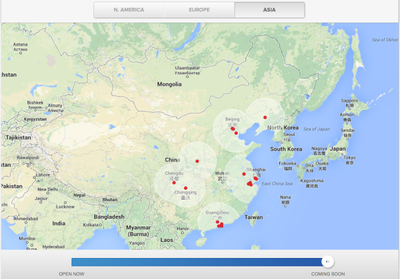 china coming soon tesla supercharger network map