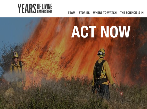 Years of Living Dangerously webpage (Years)