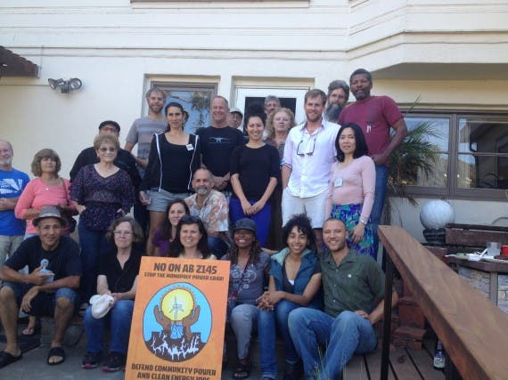 Aug 26 picnic at the home of Al Weinrub where Californians For Energy Choice gather for the week that was!
