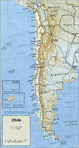 Map of Chile (wps.aw.com)