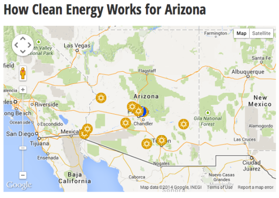 How Clean Energy Works for Arizona – Courtesy Clean Energy Works for US