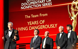 Years of Living Dangerously team wins an Enny award (Years)