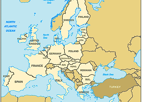 The nations of the European Union (greenwichmeantime.com)