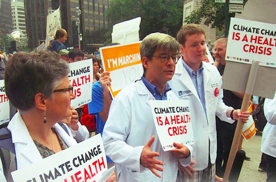 Physicians say climate change is a health crisis (Physicians for Social Responsibility)