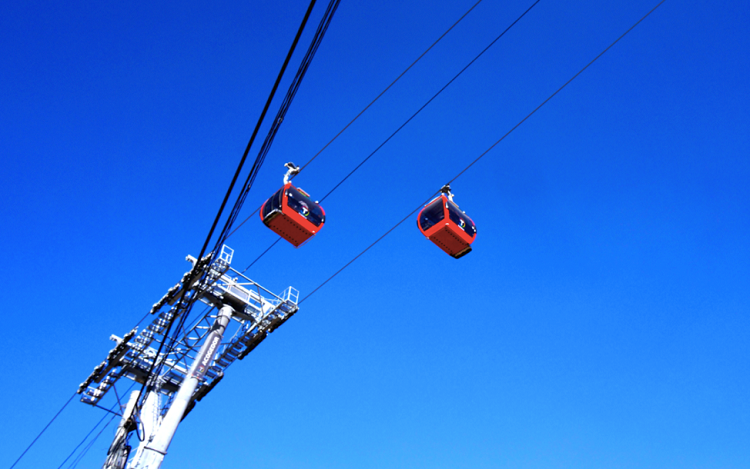 Aerial Cableway System Aerial Cable Car System