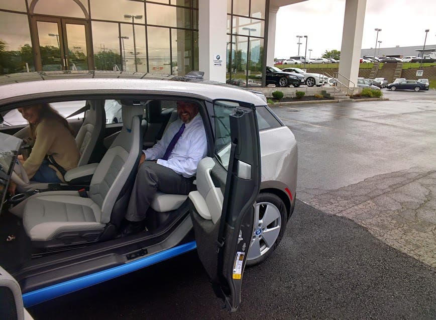 bmw i3 backseat