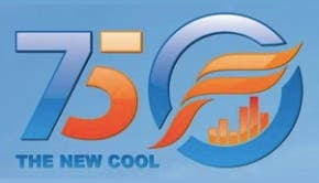 "75F ""New Cool"" logo (75F)"