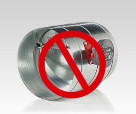 Bypass damper restrictions eliminated with 75F air balancing system (75F)