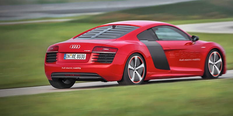 Audi Considering Plug In Hybrid Version Of R8 Sports Car