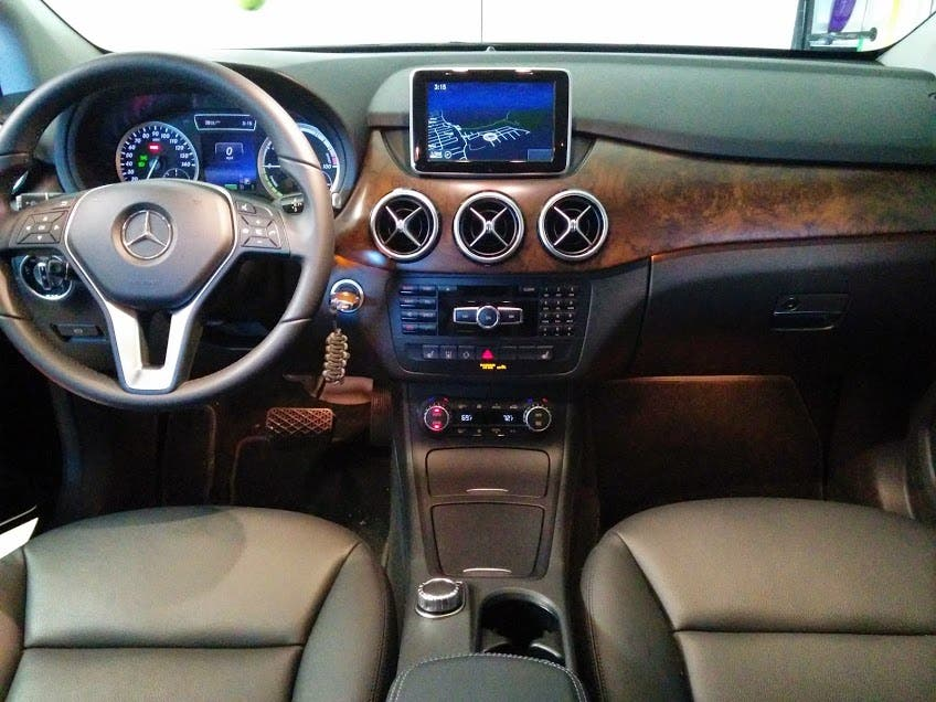 2017 Mercedes B Cl Electric Drive Inside