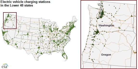 Electric Vehicle Charging Station Incentives Increased In Several Us States