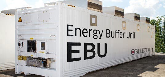 Belectric Amp Vattenfall Unveil Battery Storage Facility At