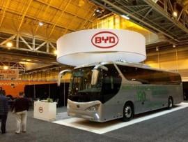 BYD C9 EV bus